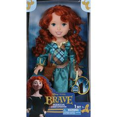 Brave movie merida dolls  | ... Brave Merida Toddler Doll with Bow and Arrow from the Movie Brave