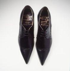 Mens Chain Decor Nightclub Pointed Toe Cuban Heels Buckle Shoes Fashion Leather