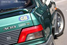 Peugeot 309 GTI Goodwood logo
