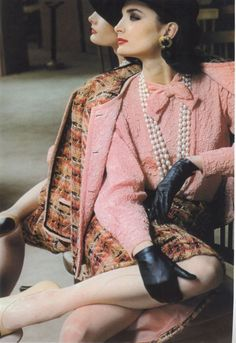Chanel ad, 1983 model: Margaret Donohoe