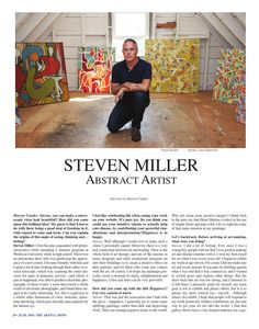 The Artful Mind June 2016  Discover the artwork of NYC artist Steven Miller www.stevenwmiller.com #art #interior #design #fashion #love #beautiful #color #LA #NY #UK