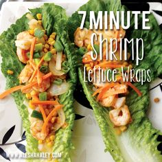 Ingredients: -1 bag of Frozen / Fresh Shrimp (depending on your grocery / market) **You can buy precooked shrimp so all you have to do is heat thoroughly - head of romain lettuce hearts -1 onion (sliced) -1 can of corn - olive oil for cooking -Mrs. Dash seasoning (low sodium) *optional handful of shredded carrots {for topping}