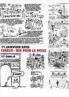 Pag 9 - Tutto il nr 1178 del 14 gennaio di Charlie Hebdo può essere scaricato liberamente da http://laduendes.blogspot.it/2015_01_01_archive.html