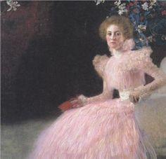 """""""Sonja Knips"""" in 1898 by Gustav Klimt"""