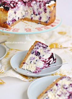Łatwy Mega Sernik Jagodowy - Przepis - Mała Cukierenka Simply Recipes, Sweet Recipes, Cake Recipes, Dessert Recipes, Love Eat, Love Food, Helathy Food, Low Carb Side Dishes, Polish Recipes