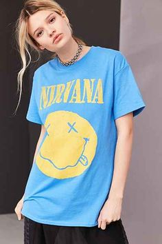 Nirvana Smiley Tee