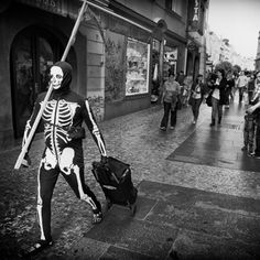 La fascinante #fotografía urbana del sueco Nils Erik Larson