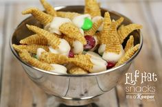 Elf Hat Snacks - It