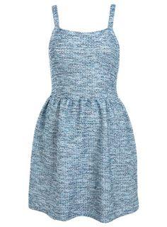 MISS SELFRIDGE - BOUCLE PINAFORE DRESS.