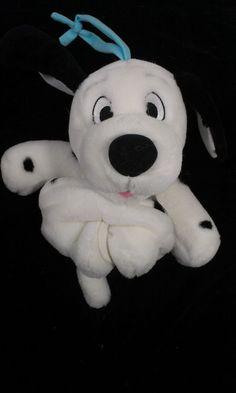 Disney Baby Crib Dalmatian Musical Puppy Dog in the Window Music Stuffed Plush  #Disney