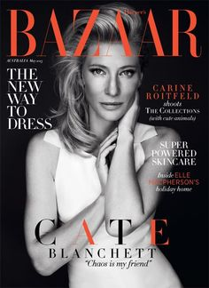 nice Harper\'s Bazaar Austrália | Capa Maio 2013 | Cate Blanchet por Steven Chee