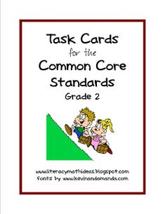 Literacy & Math Ideas: Common Core for 2nd Grade