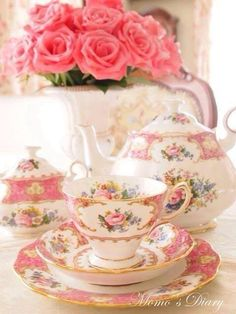 teatime.quenalbertini: Beautiful tea time table