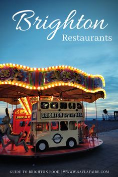 Where to eat when you're in Brighton, England - a short food guide. Brighton Restaurants, Brighton Food, Brighton England, Casual Restaurants, Places To Eat, Europe