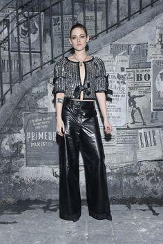 Kristen Stewart at Chanel Métiers D'Art show in Rome