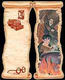 Free printable Harry Potter Bookmark