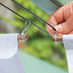 Orienter l'ouverture des mousquetons