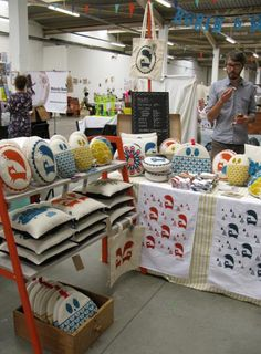 Robin & Mould at Renegade Craft Fair 2011