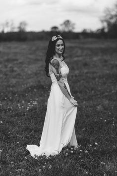 Une jolie mariée tatouée | AMANDA   RHYS