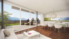 CARISMA Immobilien Wohnprojekt Kravogl Divider, Room, Furniture, Home Decor, Real Estates, Projects, Homes, Bedroom, Decoration Home
