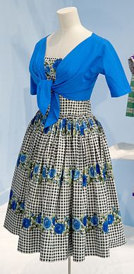 A Horrockses blue dress