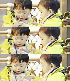 Triplets Daehan Minguk Manse Song Il Gook, Superman Kids, Korean Tv Shows, Song Daehan, Song Triplets, Actors, Songs, Cute, Actor