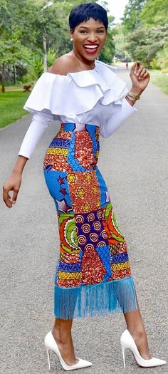 African wear long skirt, African fashion, Ankara, kitenge, African women dresses, African prints, African men's fashion, Nigerian style, Ghanaian fashion, ntoma, kente styles, African fashion dresses, aso ebi styles, gele, duku, khanga, krobo beads, xhosa fashion, agbada, west african kaftan, African wear, fashion dresses, african wear for men