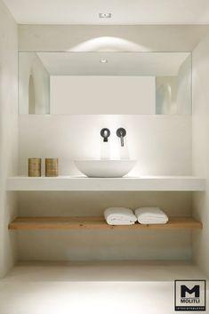New Bath Room Design Ideas Modern Bathtubs 43 Ideas bath design 654077545868390538 Modern Bathtub, Modern Bathroom, Bad Inspiration, Bathroom Inspiration, Simple Bathroom, White Bathroom, Bathroom Ideas, Guest Toilet, Tadelakt