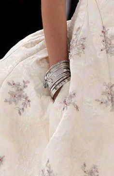 Beautiful Fashion Details...Christian Dior.