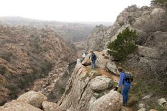 6. Spend all day or a few hours hiking the Narrows in Wichita Mountains Wildlife Refuge.