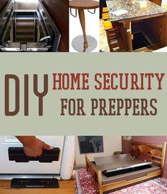 DIY Home Security for Preppers | Badass SHTF Home Defense #survivallife www.survivallife.com