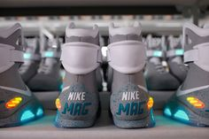 Waaay Back To The Future: Nike's 23-Year Journey To Make McFly's Shoes Real - wish I could get a pair.