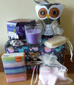 Beautiful Owl Lovers Vintage Style Gift Pamper Hamper Suitcase Mum Nana Aunt S in Home, Furniture & DIY, Celebrations & Occasions, Other Celebrations & Occasions | eBay