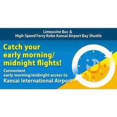 Kansai International Airport | Limousine Bus & High-Speed Ferry Kobe-Kansai…