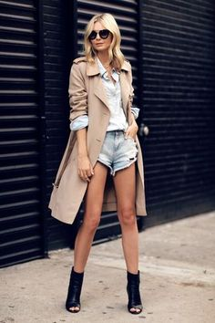 TRENCH COAT   CUT-OFFS