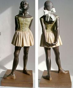 spent a lot of time looking at pics of this statue in my figure drawing class...that degas is pretty good, huh?