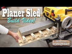 How To Build a Planer Sled - YouTube