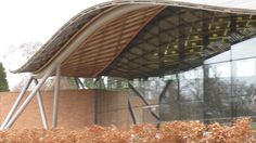 Gridshell roof by joocallaghan, via Flickr