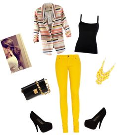 """Casual Office Outfit"" by emonalysee on Polyvore"
