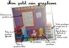 Je prépare ma classe ! - Blog Hop'Toys School Organisation, Teacher Organization, Primary School, Pre School, Learning Activities, Kids Learning, Coin Art, Free Frames, Classroom Environment