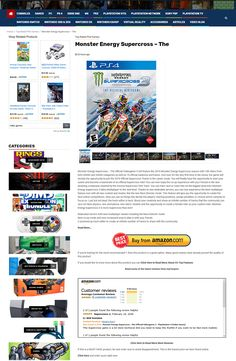 GameAzon is the Ultimate Video Gaming Affiliate Website Engine. This Amazing Site includes the hottest video games, articles and videos and it's all automated! It comes with 362 Content and Affiliate Campaigns in the most popular categories. Marketing Software, Internet Marketing, Monster Energy Supercross, Pc Ps4, Nintendo Ds, Xbox One, Engine, Video Games, Gaming