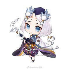 Kawaii Chibi, Anime Chibi, Heian Period, Chibi Characters, Tarot, Avatar, Chi Bi, Animation, Cartoon