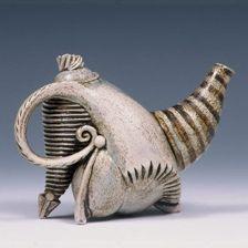 Carol Wedemeyer - ceramic teapot