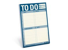 Knock Knock To Do Pad #knockknockstuff - I love these types of list pads