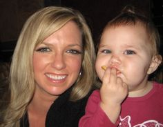 My business partner for Avasiare Professional Skincare and Cosmetics w/ daughter Ava.