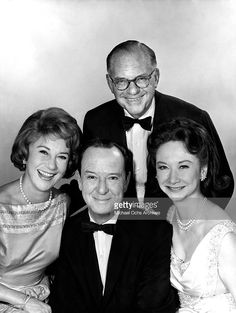 The panel of judges along with the host of What's My Line? Arlene Francis, John Charles Daly, Dorothy Kilgallen and Bennett Cerf pose for a portrait circa in New York, New York. Get premium, high resolution news photos at Getty Images Bennett Cerf, What's My Line, John Daly, Oscar Winning Movies, Line Game, Celebrities Then And Now, John Charles, I Adore You, Old Tv Shows