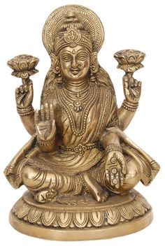 Tanjore Paintings is a classical south Indian art developed in the late century in Thanjavur also known as Tanjore In Tamilnadu south Indian state. Ganesh Idol, Ganesha, Mandir Decoration, Khajuraho Temple, Silver Pooja Items, Gold Pendent, Tanjore Painting, Brass Statues, Goddess Lakshmi