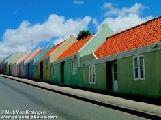 Curacao, town houses  Lovely place. I have been here.