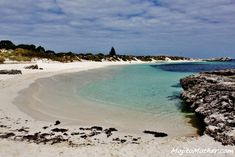 Pinky Beach on Rottnest Island, Western Australia. Hubby & I want to go to Australia someday! Vacation Destinations, Dream Vacations, Vacation Spots, Western Australia, Australia Travel, Perth Australia, Visit Australia, Tasmania, The Places Youll Go