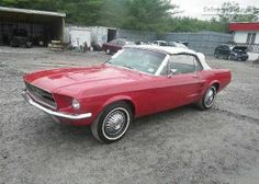 1967 FORD MUSTANG VIN: 7T03C158338